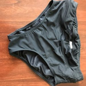 Ladies Lands End high rise bathing suit bottom.